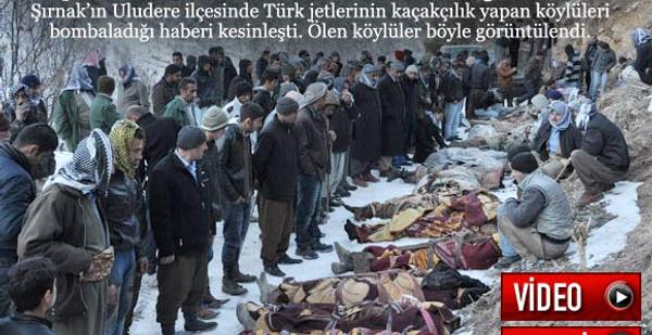 PKK'lı sanılan sivil köylüler öldürüldü!