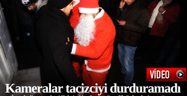 Taksim'de yılbaşı tacizi