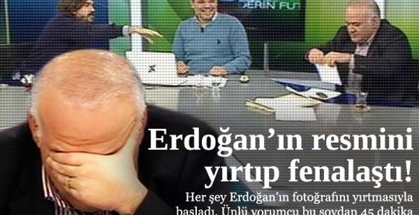 Ahmet Çakar canlı yayında fenalaştı