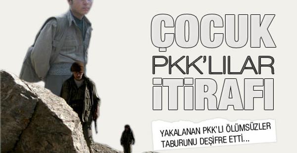 PKK'nın kanlı çocuk planı deşifre oldu