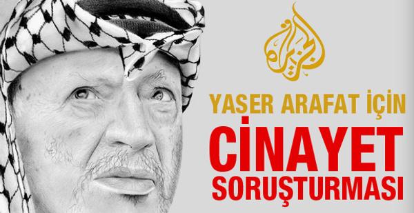 Yaser Arafat için cinayet soruşturması