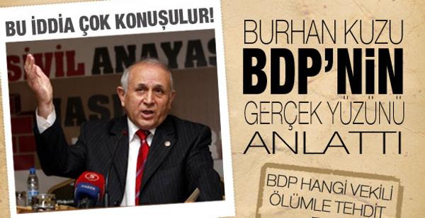 BDP hangi vekili ölümle tehdit etti
