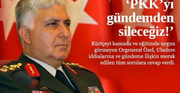 Necdet Özel'den müthiş PKK iddiası