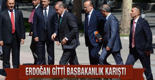 Başbakanlık'ta silahlar çekildi