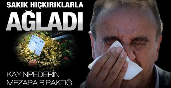 Sakık oğlunun cenazesinde böyle ağladı