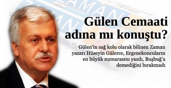 Gülen'in sağ kolu Başbuğ'a saydırdı