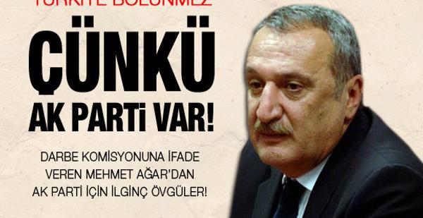 Mehmet Ağar'dan AK Parti'ye ilginç övgü