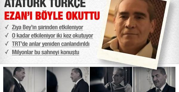 Atatürk Türkçe Ezan'ı böyle okuttu!