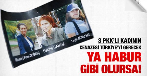 3 PKK'lı kadının cenazesi böyle gömülecek