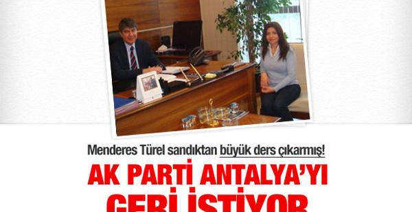 AK Parti Antalya'yı geri alacak!