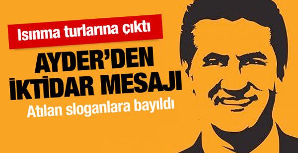 Mustafa Sarıgül ısınma turlarına çıktı