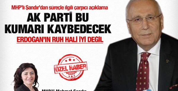 AK Parti bu kumarı kaybedecek!