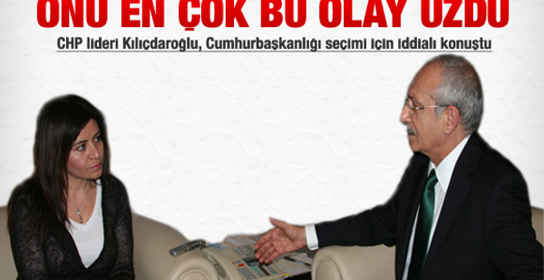 Kemal Kılıçdaroğlu'nu en çok üzen olay!