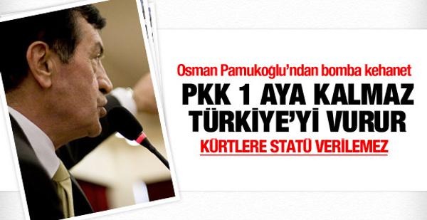 Osman Pamukoğlu'ndan PKK kehaneti