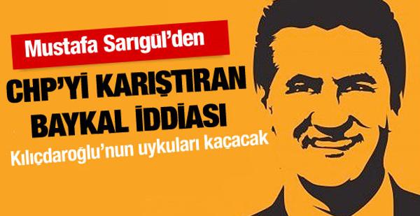 Mustafa Sarıgül'den Deniz Baykal iddiası