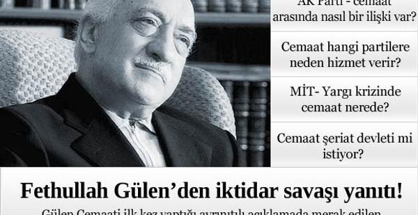 Fethullah Gülen'den çarpıcı açıklama!