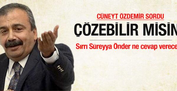 İstanbul trafiğini nasıl çözeceksin Sırrı?