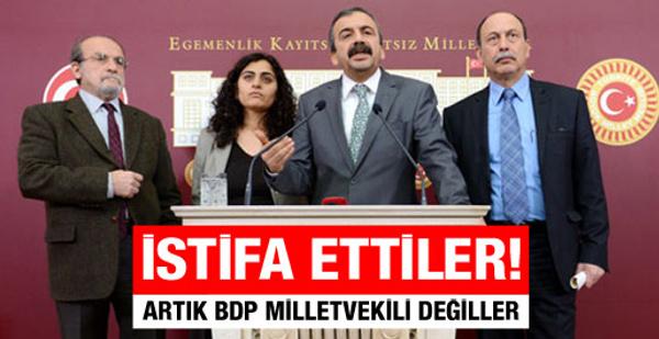 Sırrı Süreyya Önder BDP'den istifa etti!