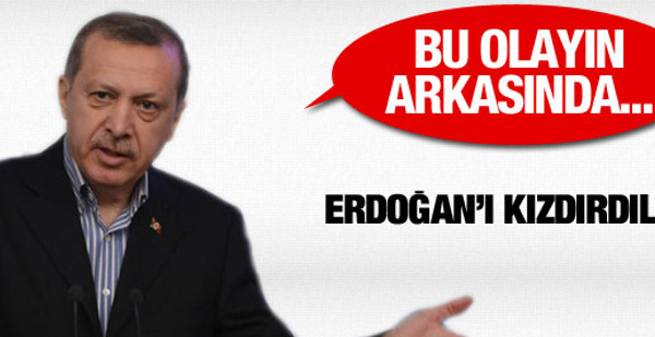 Erdoğan olayların arkasındakileri açıkladı