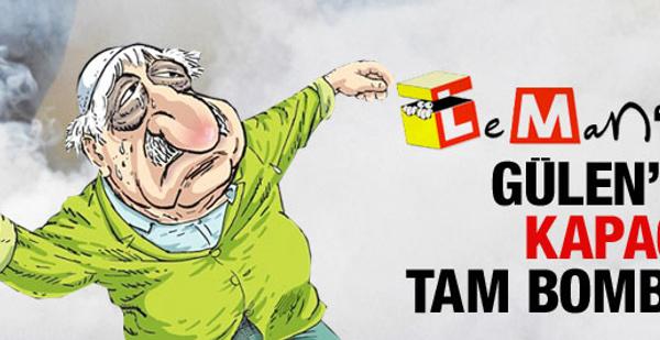 LEMAN'ın Gülen karikatürü dillerde