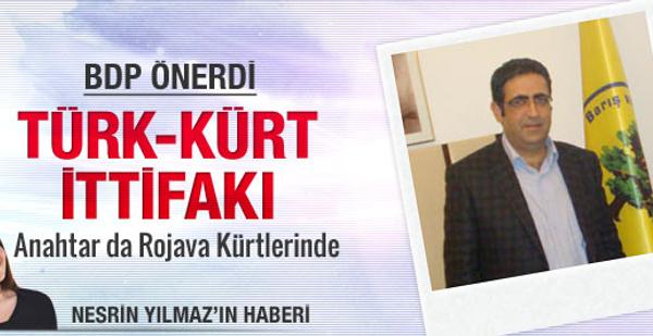 BDP'den öneri : Kürt-Türk ittifakı