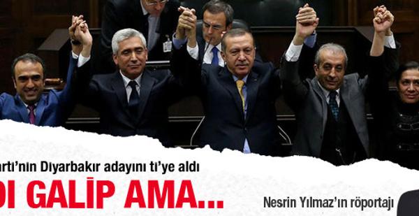 AK Parti'nin Diyarbakır adayını ti'ye aldı