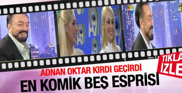 Adnan Oktar'ın en komik 5 esprisi!