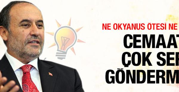 AK Partili vekilden Gülen'e çok sert gönderme!