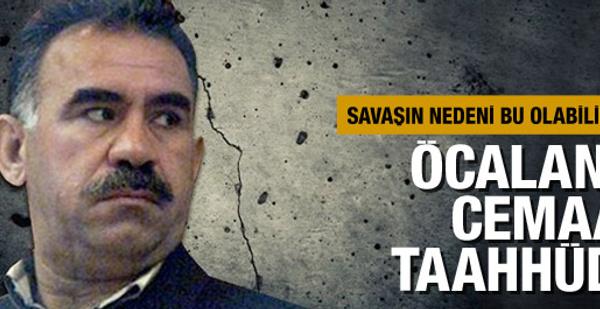 Öcalan'a cemaat taahhüdü iddiası