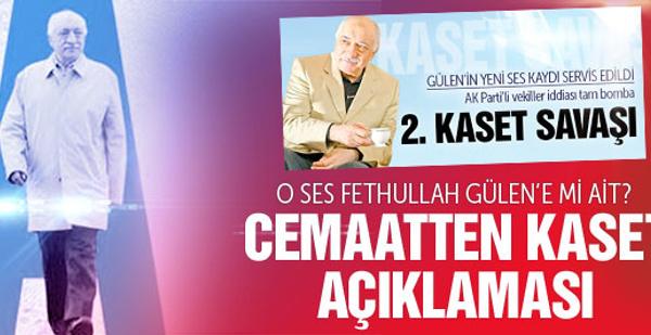 Fethullah Gülen'den ses kaydı açıklaması SON DAKİKA