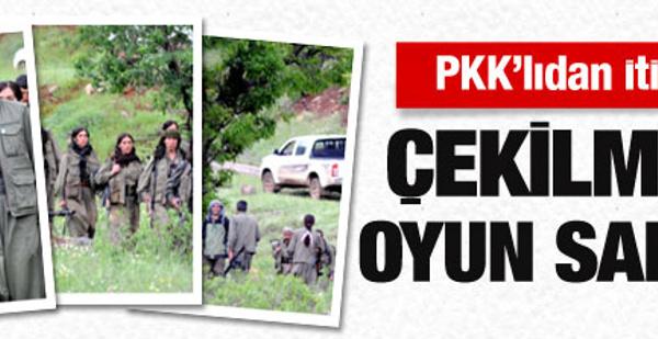 Çekilen PKK'lıdan itiraf!