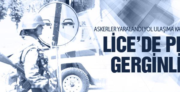 Lice'de PKK gerginliği tırmanıyor!