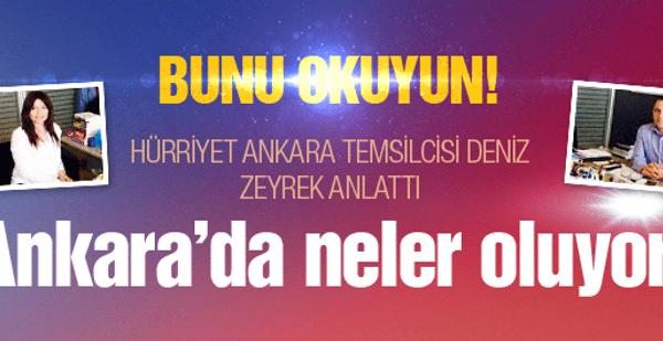 Hürriyet'in Ankara temsilsicinden bombalar