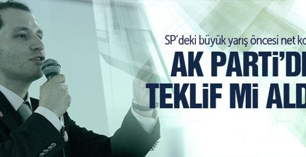 Fatih Erbakan AK Parti'ye mi geçiyor?
