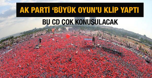AK Parti büyük oyunu klip yaptı