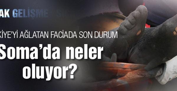 Soma maden kazası neler oluyor SON DAKİKA
