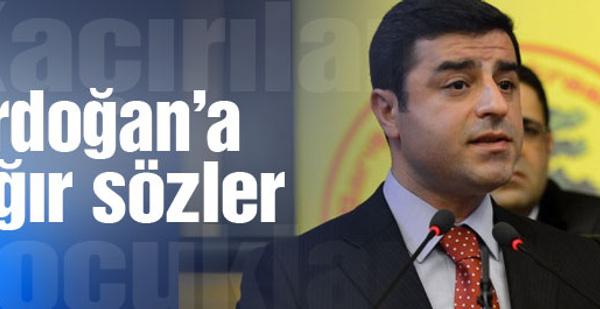 Demirtaş'tan Erdoğan'a ağır sözler