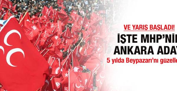 İşte MHP'nin Ankara adayı