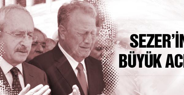 Eski DSP lideri Sezer'in acı günü