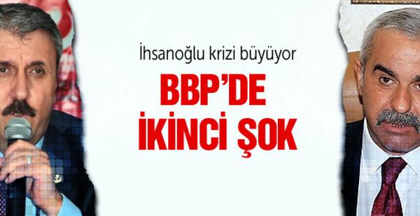 BBP lideri Destici'ye bir şok daha