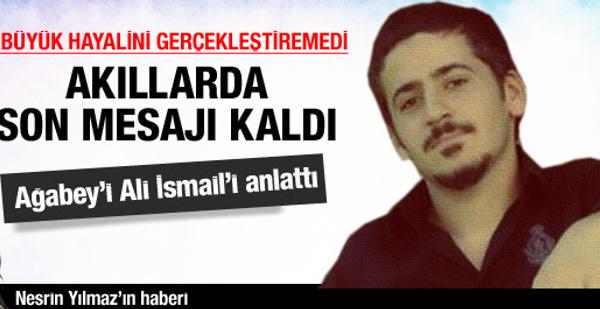 Ali İsmail'inacısı çok büyük çok!