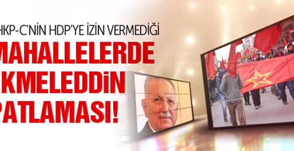 DHKP-C'nin HDP ile çatıştığı mahallede Ekmeleddin patlaması!