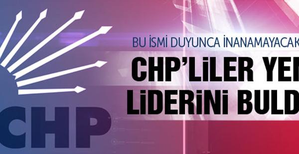 CHP Kılıçdaroğlu'nun yerine çıkaracağı ismi buldu!