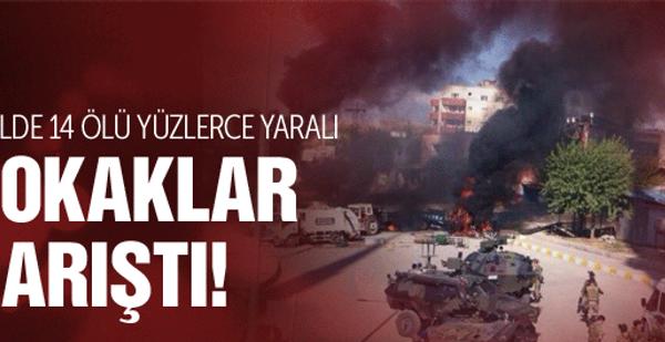Kobani son dakika gösteriler can aldı!