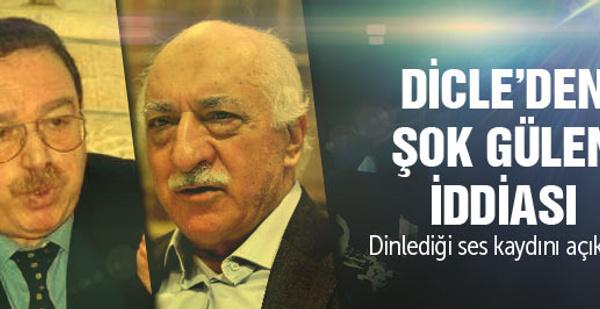 Hatip Dicle'den şok Gülen iddiası!