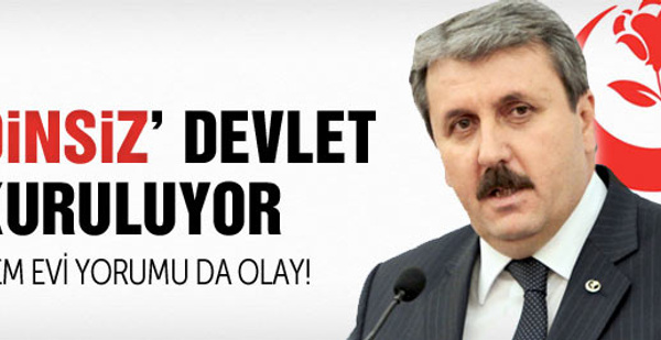 BBP'den Kürtler'i kızdıracak devlet tanımı