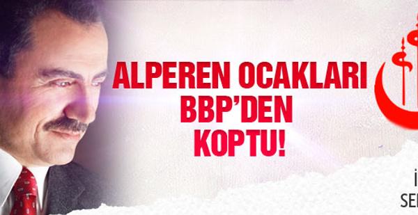 Alperen Ocakları BBP ile bağları kopardı!