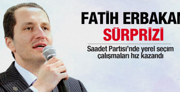 İstanbul'a Fatih Erbakan sürprizi