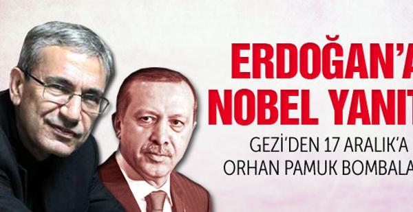 Orhan Pamuk'tan Erdoğan'a Nobel yanıtı!
