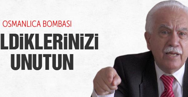 Doğu Perinçek'ten Osmanlıca bombası